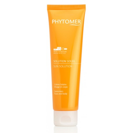 SUN SOLUTION Sun solution sun screen SPF15 Face and Body